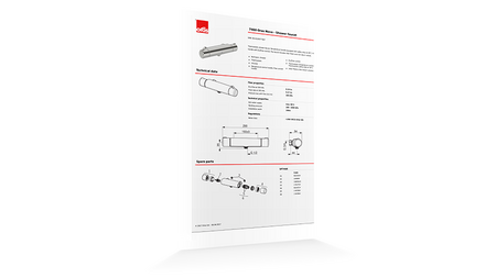 : Oras datasheet tool will generate a PDF with all the information you need.
