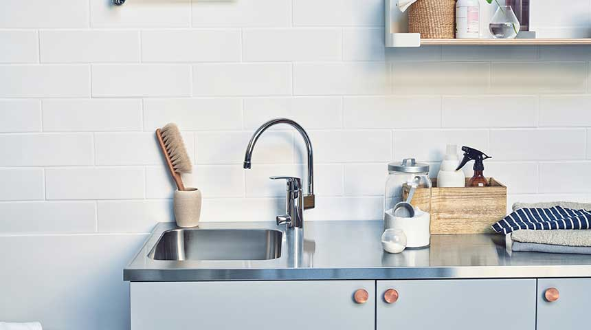 When choosing a faucet for kitchen or bathroom, consider whether or not a dishwasher valve is needed.
