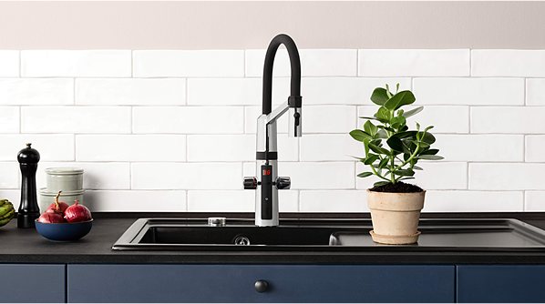 HANSAFIT kitchen faucet has touchless function, which makes hand washing in kitchen easier and more hygienic than even before.