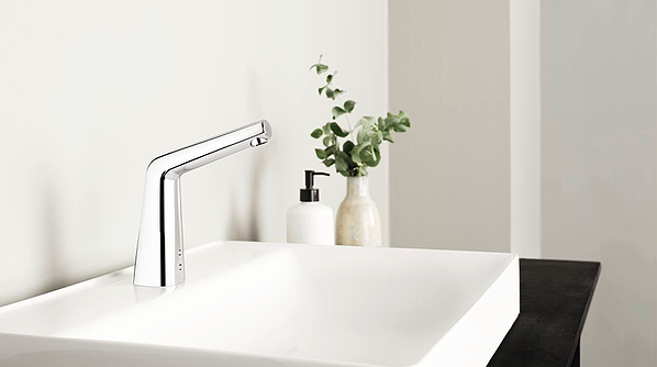 Touchless faucet can significantly improve hygiene at home