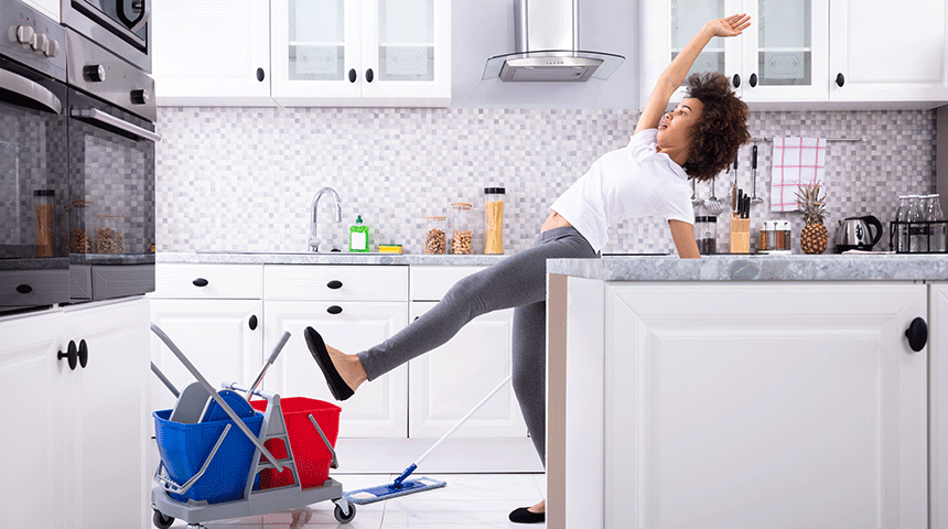 As accidents happen in our kitchens more frequently than we might think, do ensure the space is safe to cook and drink in.