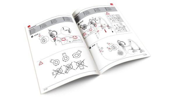 Oras manualer är en utmärkt informationskälla – inte bara för installationen utan också för underhåll och användning