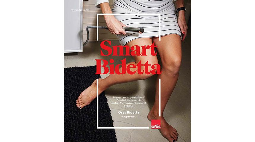 I 2013 ble den første Oras Smart Bidetta lansert som gjorde det mulig å bruke hånddusjen uten å skru på baderomskranen først.