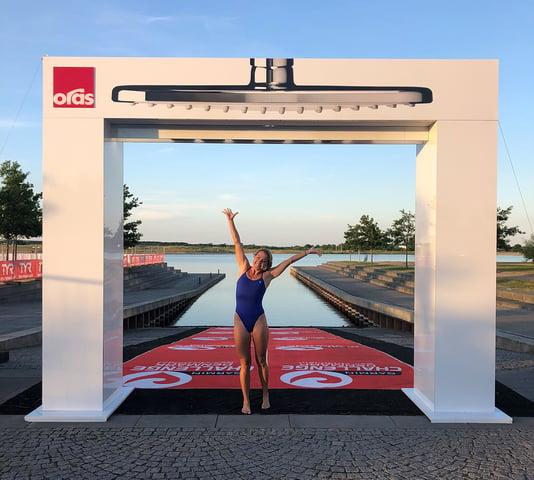 Triatlet Michelle Vesterby til Garmin Challenge Herning 2018