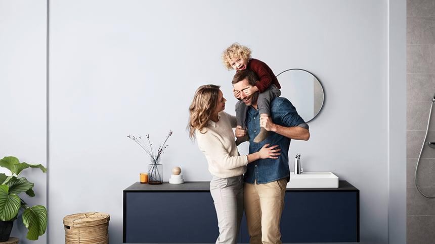 Oras smart armaturer passer til hele familien.