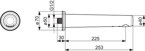 Oras Electra 6189Z, 225mm