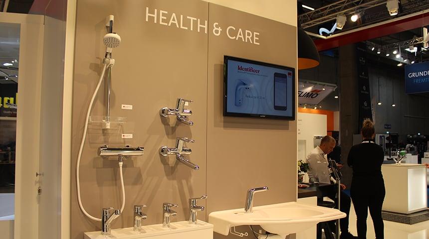 Der er kommet nye Oras armaturer til sundhedssektoren - Oras Clinica og Oras Care.