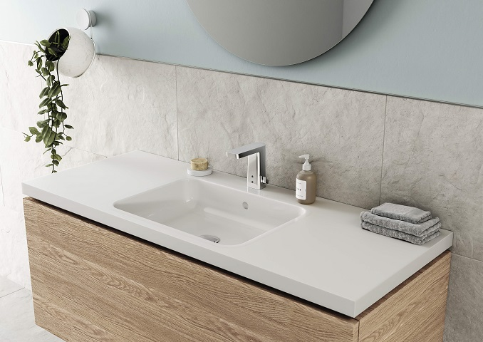 Oras Stela touchless faucet for bathrooms