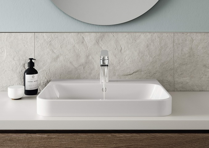 Oras Stela washbasin faucet for bathrooms
