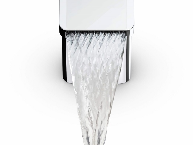 Oras Stela med ett vattenflöde i diamantstruktur