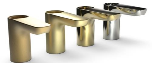 Faucet bodies made out of DZR brass