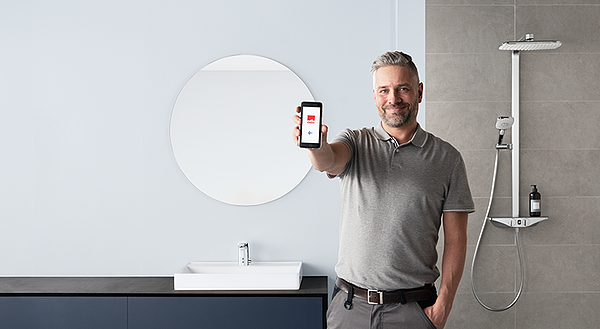 Oras App makes adjusting faucet settings easy and fast