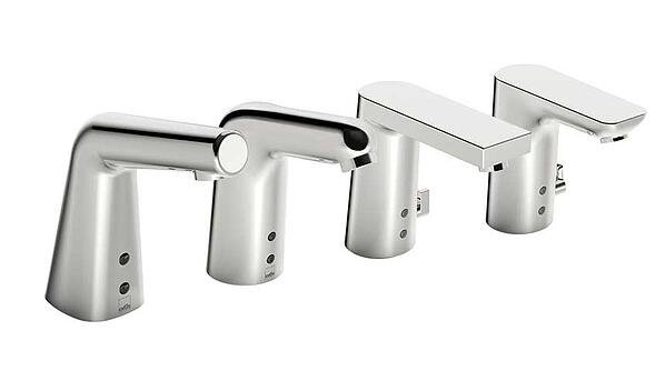 Touchless smart faucets come in a variety of different designs