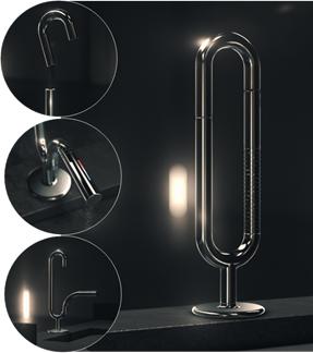 Lingotto - Design av Giulio Lacchetti. Foto: propp.it