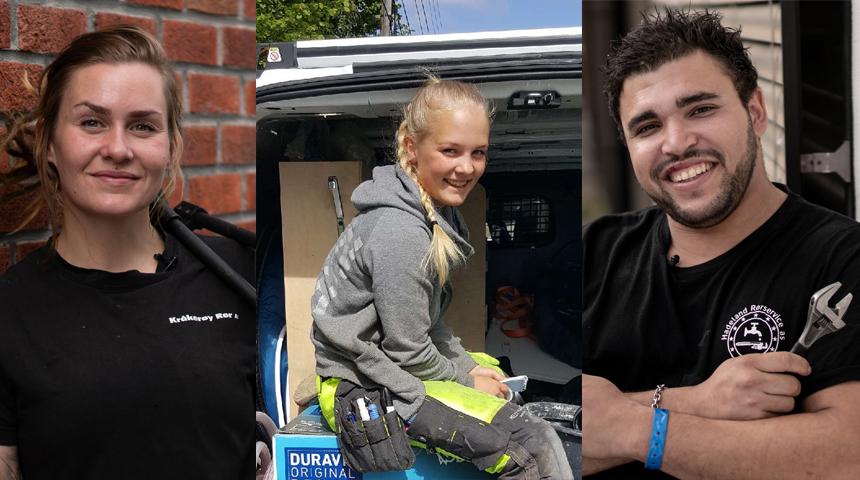 Her er finalistene til Norges Hyggeliste Rørlegger!