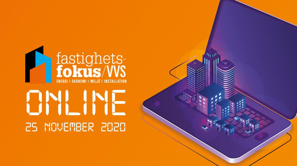 Välkommen att besöka oss på den digitala mässan Fastighetsfokus VVS