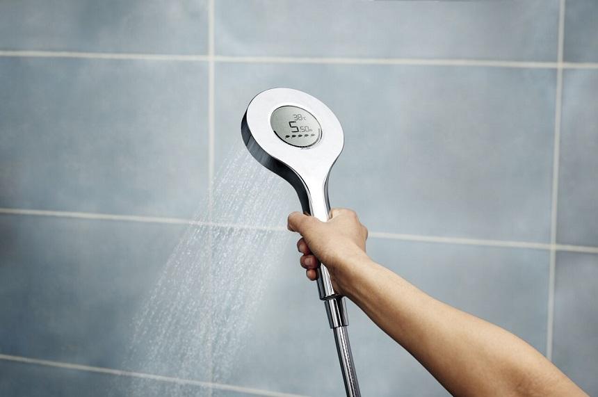 Oras Hydractiva Digital -käsisuihku: Kun veden ja energian säästämisestä tulee kokemus