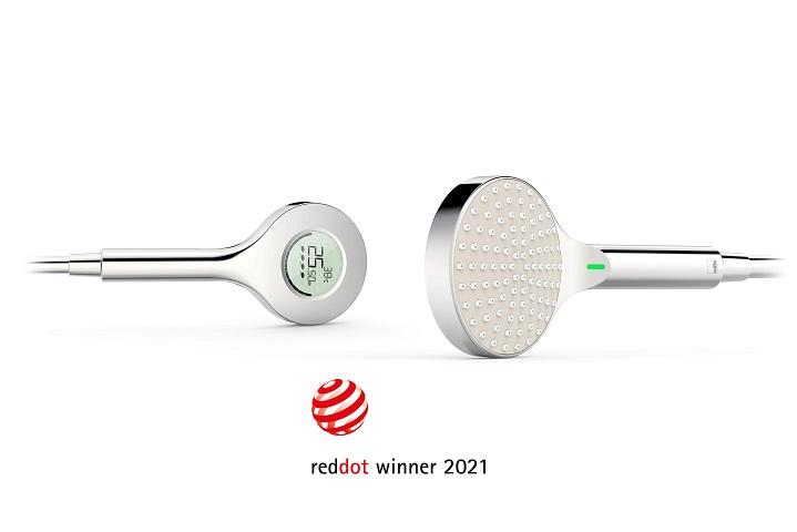 Red Dot Award 2021 vinnere: Oras Hydractiva Digital og Oras Stela