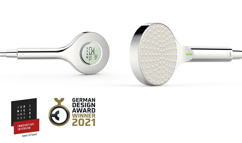 German Design Award 2021 och ICONIC AWARDS 2021: Oras nya digitala handdusch vinner i tre kategorier